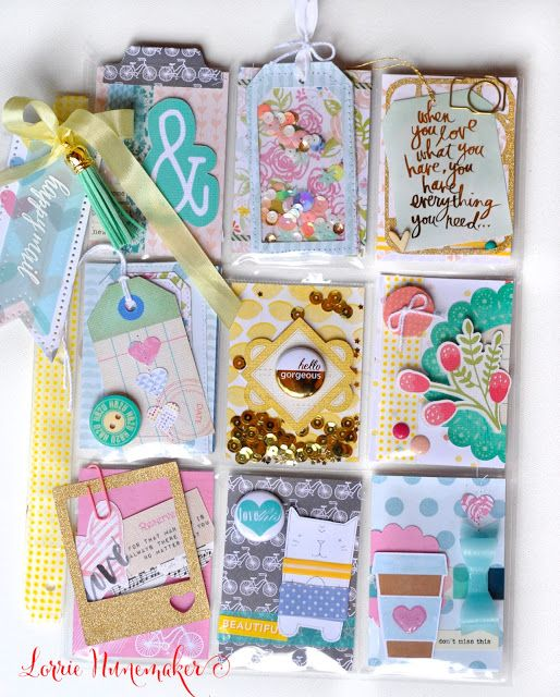 Hello Gorgeous Pocket Letters by Lorrie Nunemaker