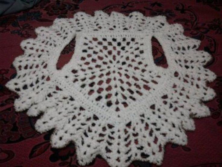 chaleco a crochet   Aprender manualidades es facilisimo.