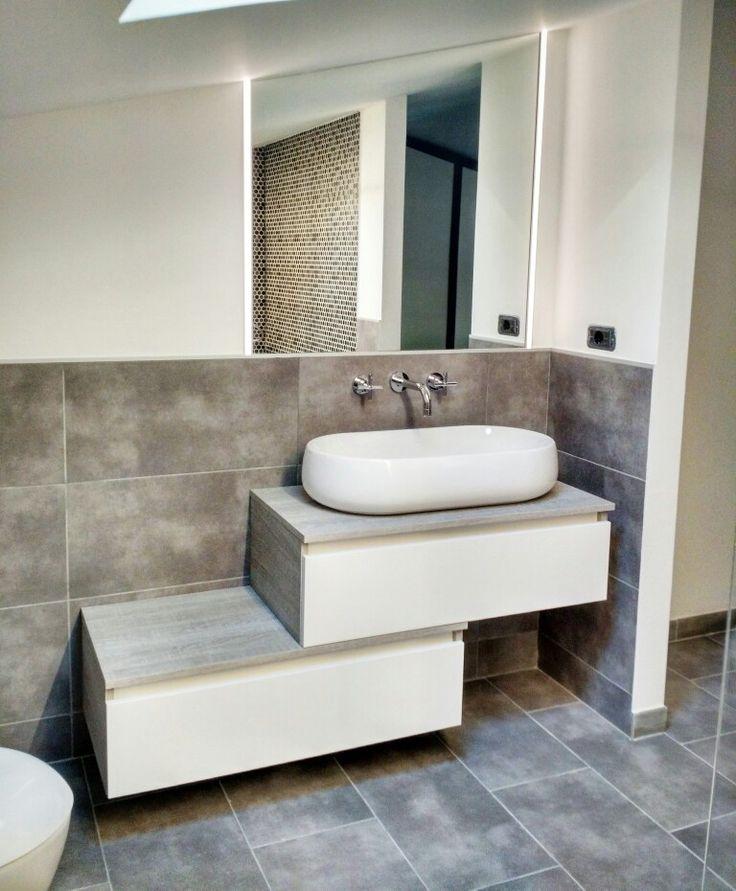 ristrutturazionebagno: mobile bagno #mobilduenne a cassettoni ad ... - Mobilduenne Arredo Bagno