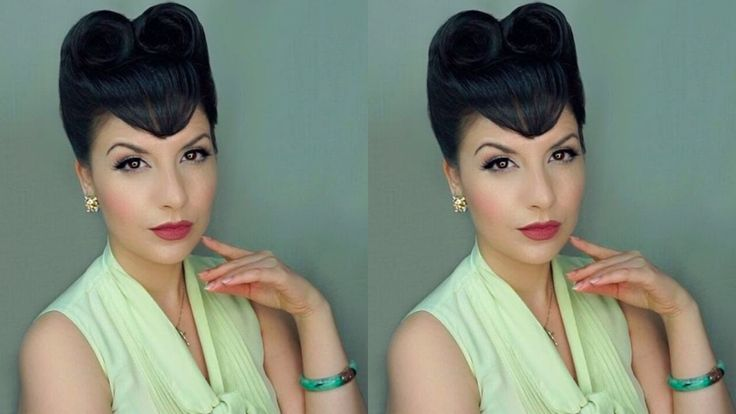 """Tutorial Estilo Pinup """"Double Victory Roll"""" 