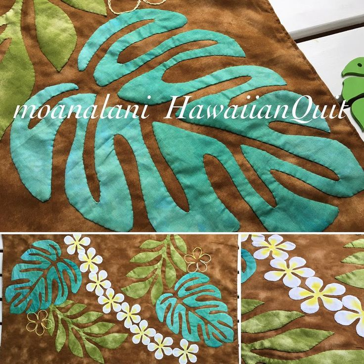 For Laura's Hawaiian Quilt?