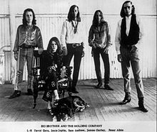 Joplin with Big Brother and the Holding Company, circa 1966–1967.