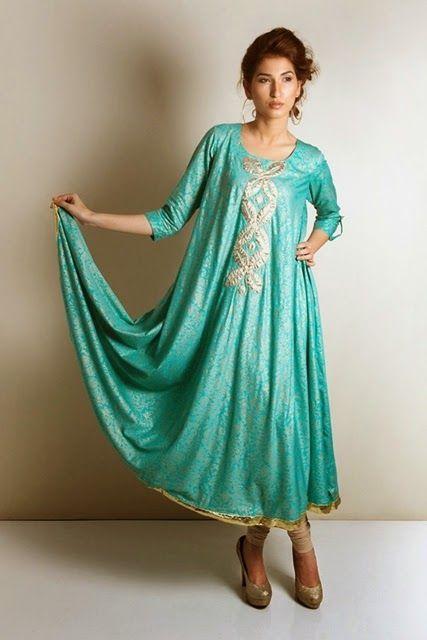 designer pakistani suits 2014 -