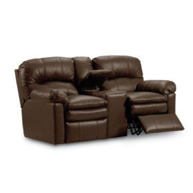 Samu0027s Club - Lane Furniture Henry Top-Grain Leather Dual Reclining Loveseat  sc 1 st  Pinterest & Best 25+ Dual reclining loveseat ideas on Pinterest | Lazy boy ... islam-shia.org