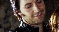 Richard Armitage as Sir Guy of Gisborne in Robin Hood (2006-2009) (gif)