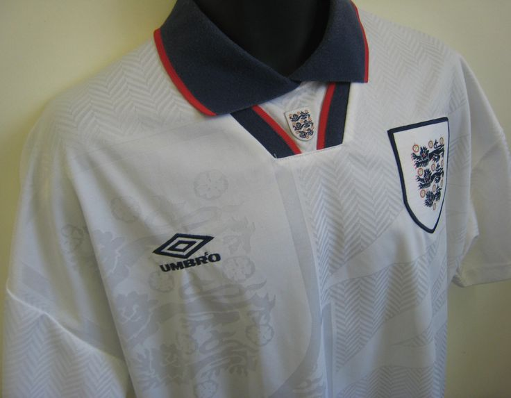 93-95 England shirt, the one we would have worn had we qualified for USA94