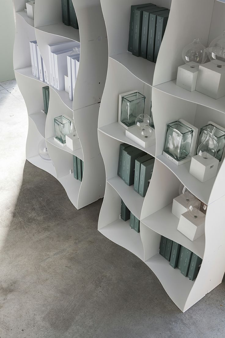 Iron-ic by Ronda Design. #modular #metal #bookcase #design #bookcase