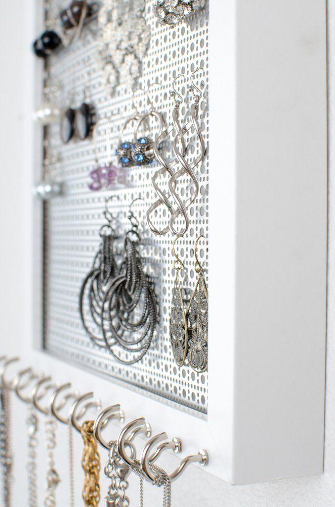 Best 25 Jewelry organizer wall ideas on Pinterest Diy jewelry