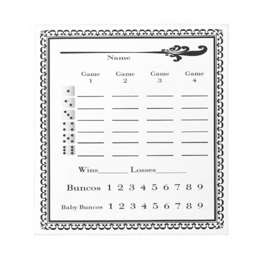74 best New Yearu0027s Eve party images on Pinterest Bunco ideas - phase 10 score sheet template