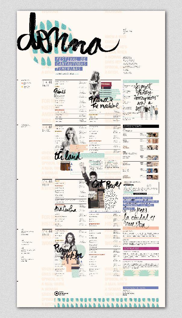 DONNA - FESTIVAL // 01 - Gráfica institucional on Behance