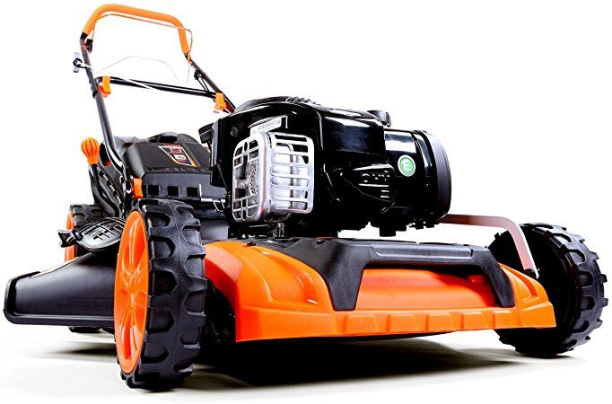 FUXTEC Produktbilder sind Porno! :-) Benzin Rasenmäher FX-RM20BS mit 51 cm GT Selbstantrieb B&S Motor Easy Clean Briggs Stratton Motormäher 4in1 Mulchen