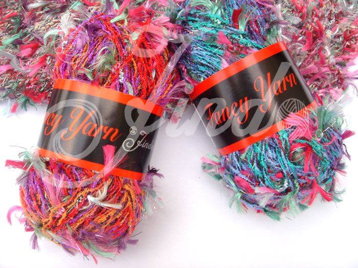 The fancy yarn Brooke buys for Shane's mother as a hostess gift.