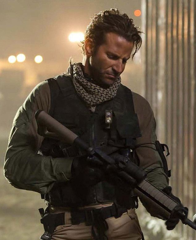 Bradley Cooper, American Sniper, Love the idea of JLaw and Bradley Cooper starring in many more movies...don't you?