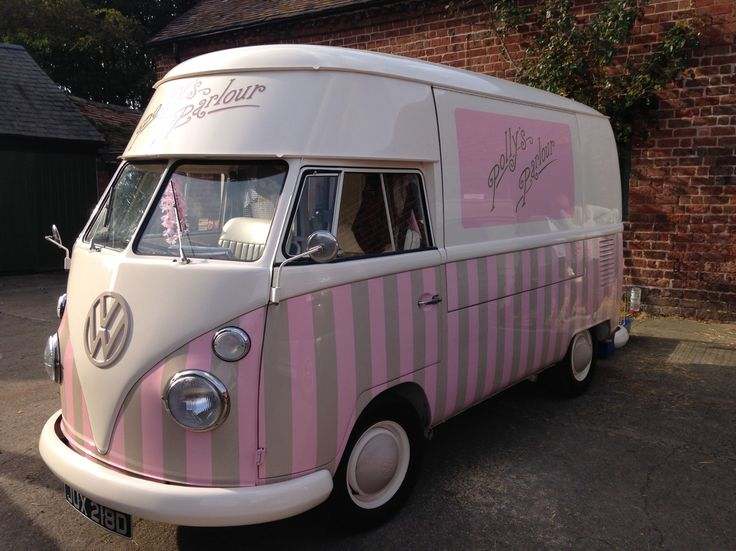 High Quality Florence Is Available For Wedding Hire, Event Or Festival. Traditional Ice  Cream From An Award Winning VW Vintage Ice Cream Van