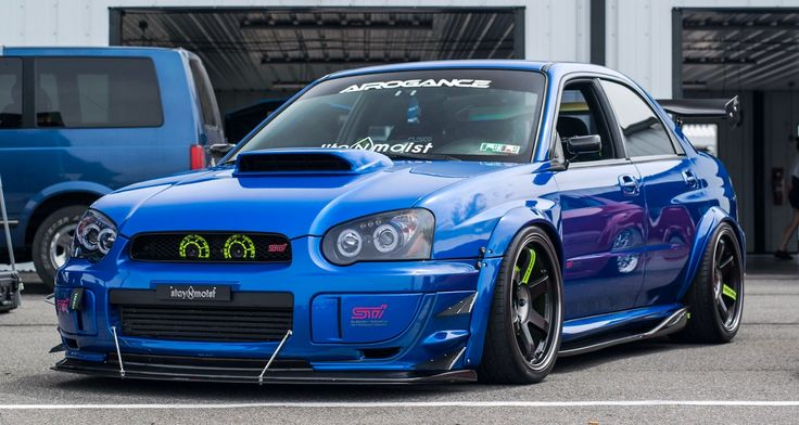 subaru-wrx-sti : Photo