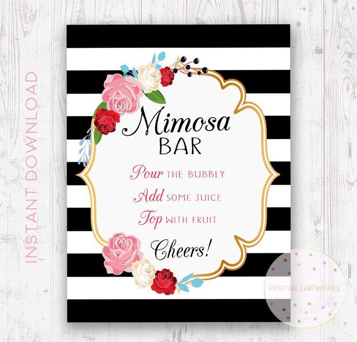 Barra de mimosa para imprimir firmar, Mimosa bar barra imprimible y burbujeante Regístrate, barra muestra imprimible, despedida de soltera bar signo, letrero de bar boda, PAW100 de PrintableArtWishes en Etsy https://www.etsy.com/es/listing/519039209/barra-de-mimosa-para-imprimir-firmar