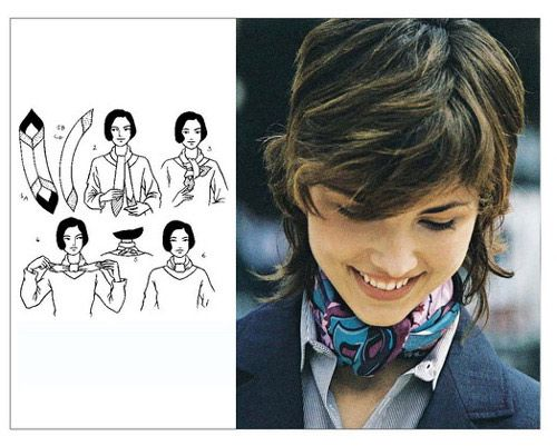 Tying Women's Scarves Guide - How to Wear a Scarf Found on images.search.yahoo.com