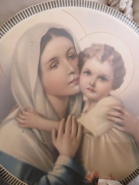 .Beautiful  Mary and Jesus