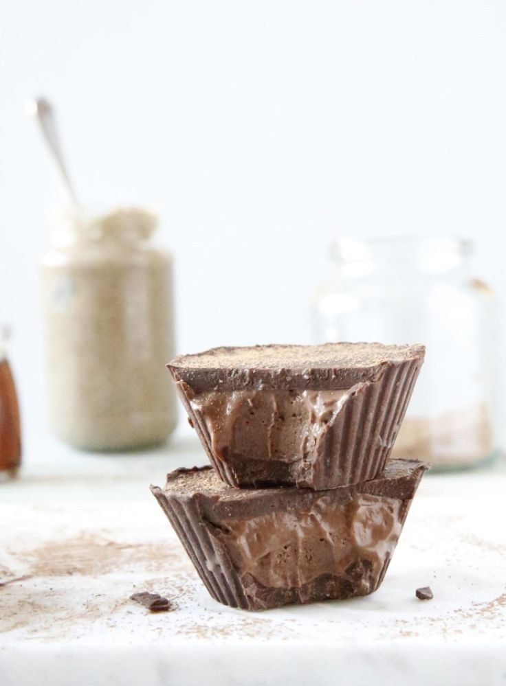 Chocolate Mousse Cups ♡