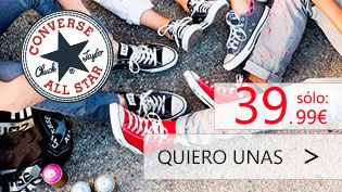 Oferta Converse All star & Chuck taylor : http://www.decimas.es/catalogsearch/result/?q=taylor+as+core