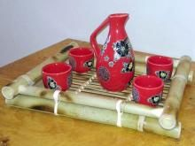 "Brilliant Red Sake Set :: Sake Sets  ""#wedding #invitations  #dinnerware #weddinglist #glassware #party #kitchenware #stylish #beautifull #china,#gifts,#favors,#luxery, #porcelaindinnerware, #party,#cristal,#like4like, #ornaments #favors, #chic #engagement,#barware #wedgewood,#linkinprofile"""