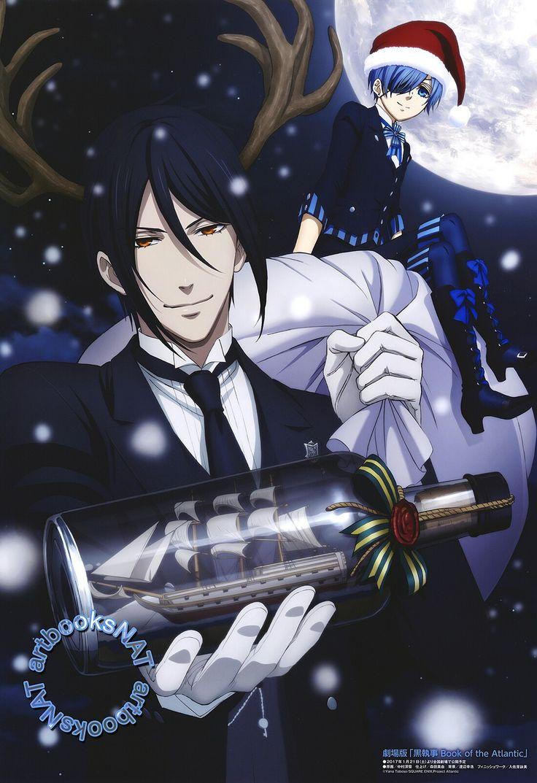 Ciel and Sebastian | Kuroshitsuji - Black Butler #Anime #Manga (Merry Christmas!)