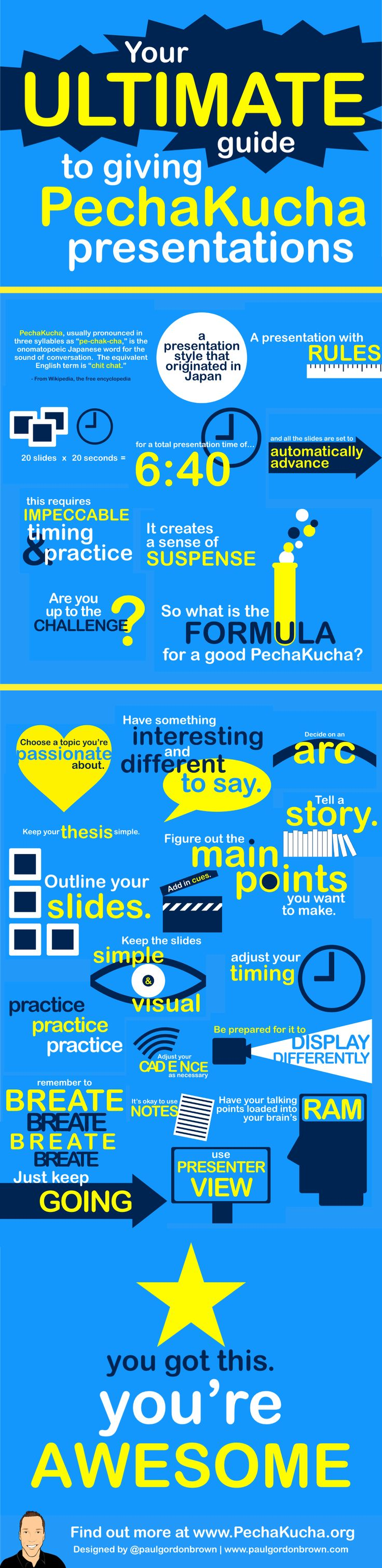 36 best pecha kucha presentations images on pinterest pechakucha infographic pronofoot35fo Images