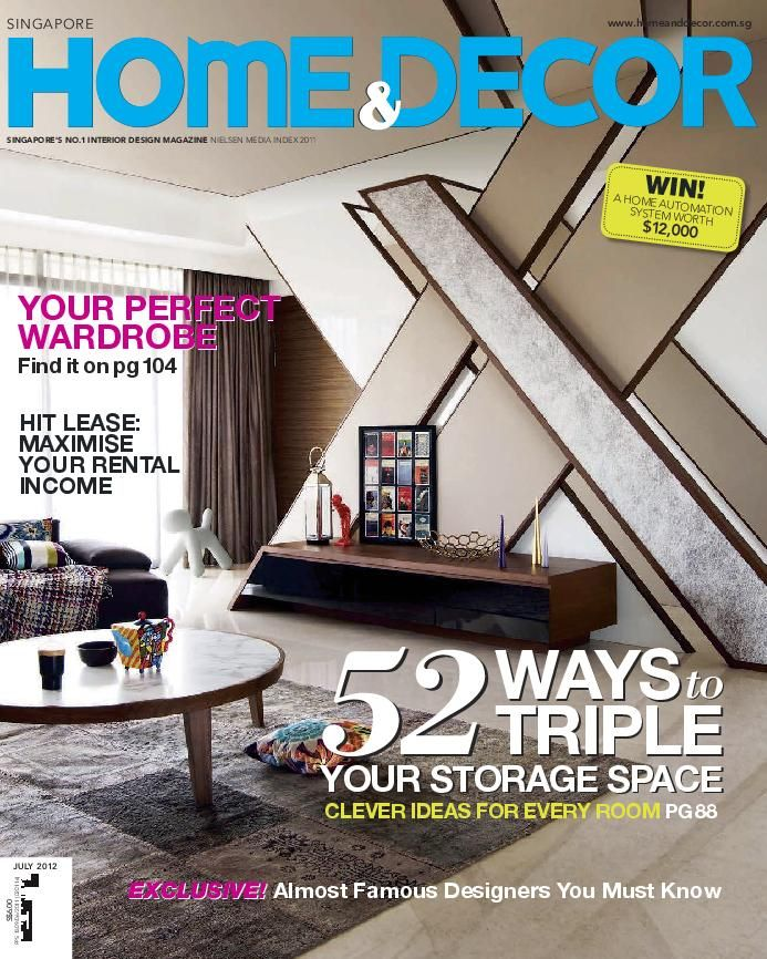 Home Decor Singapore Magazine