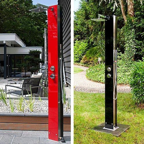 25+ Best Ideas About Gartendusche Edelstahl On Pinterest | Outdoor ... Ideen Gartendusche Design Erfrischung