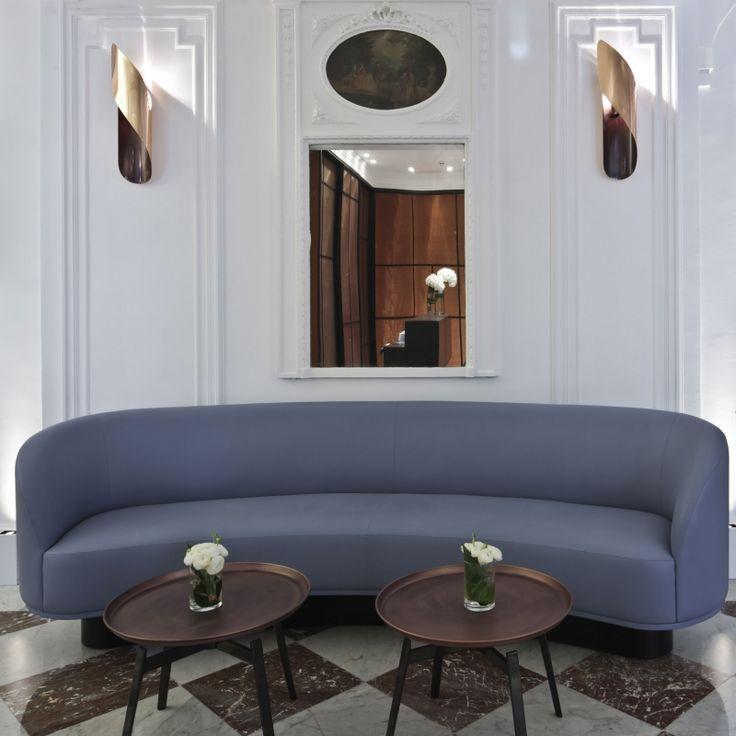 17 meilleures id es propos de canap rond sur pinterest canap incurv lits ronds et lit de. Black Bedroom Furniture Sets. Home Design Ideas