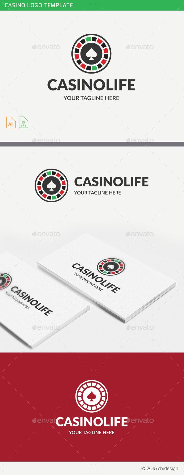 Casino Logo Template — Vector EPS #casino #money • Available here → https://graphicriver.net/item/casino-logo-template/19275816?ref=pxcr