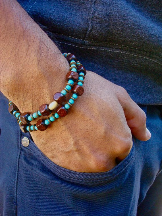 Pulsera y collar Convertible con Semi preciosas por tocijewelry