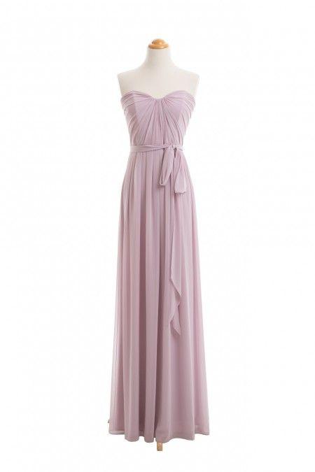 Blush Sleeveless Bridesmaid Dresses