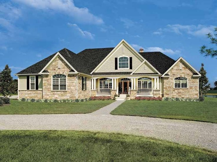 French Country Ranch House Plans french country house plan with 2818 square feet and 4 bedrooms(s