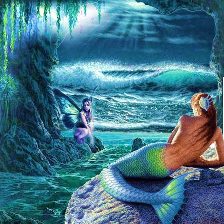 Free Mermaid Spirits - Google Zoeken