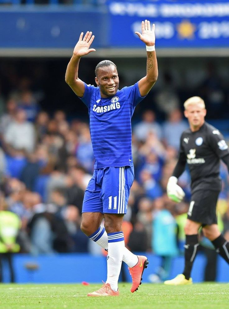 Drogba in his return to Stamford Bridge
