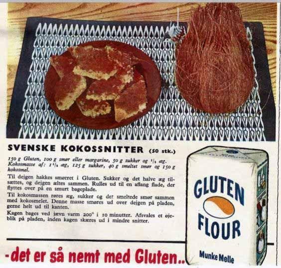Svenske kokossnitter