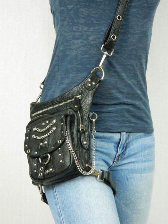 Chrome Underground Pack Thigh Holster Protected Purse