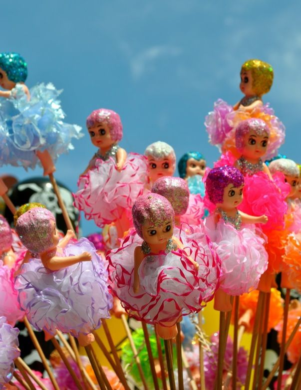 Kewpie Dolls on a stick were all I thought about