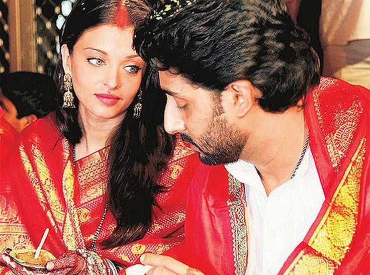 Aishwarya rai honeymoon aishwarya rai wedding shadi for Aishwarya rai in her wedding dress