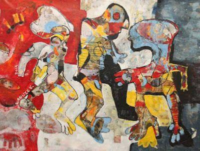 ART CURATORS: Dariusz Labuzek. Figurative Expressionism. Abstrac...