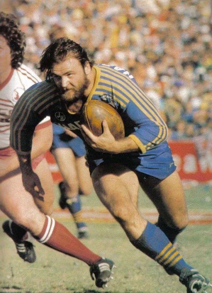 Parramatta Eels..Eric Grothe Snr what a legend