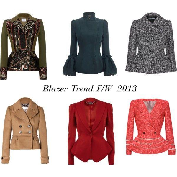 Blazer Trend F/W2013
