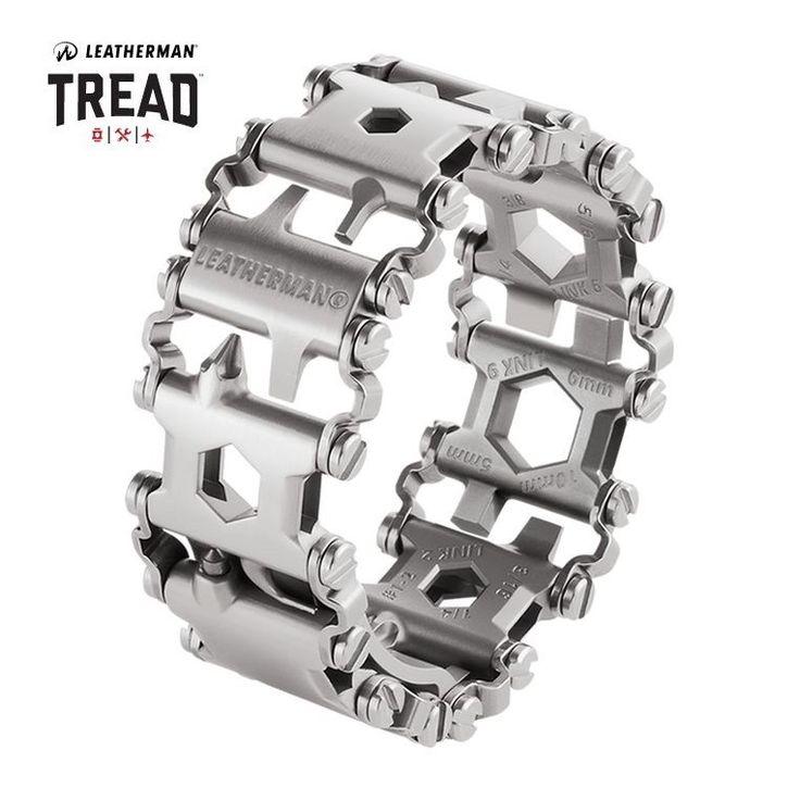 Leatherman TREAD Stainless - bracciale multifunzione