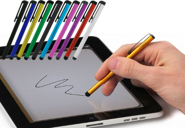 33% Off 10 PACK: Stylus Pens For IPhone Android IPads & Tablets (assorted Colors) + Free S/H