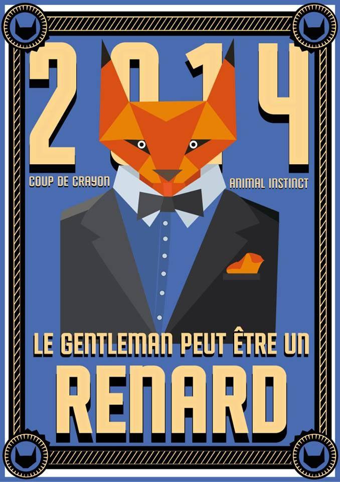 // Le Gentleman peut être un Renard // #renard #fox #esprit #animal #espritanimal #animalspirit #spirit #animals #animaux #graphisme #vectoriel