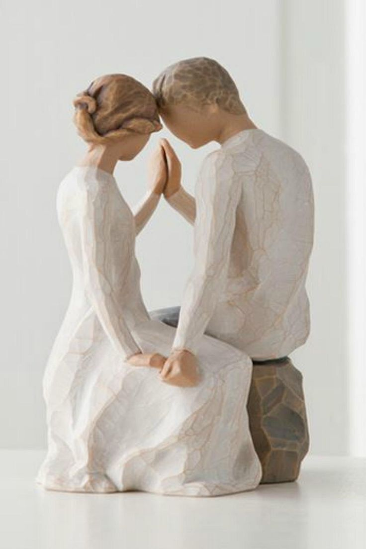 "This breath-taking resin figurine of a couple holding hands is the perfect gift for a new couple or a couple that has been together for many years! Pair with other Willow Tree figurines to make a grouping that fits your family! This figurine measures 6.5"". Around You by Willow Tree by Demdaco . Home & Gifts - Gifts - Gifts by Occasion - Entertaining & New Home Home & Gifts - Home Decor - Wall Art Home & Gifts - Gifts For... - Gifts for host / hostess Home & Gifts - Gifts - Gifts by Occasion…"