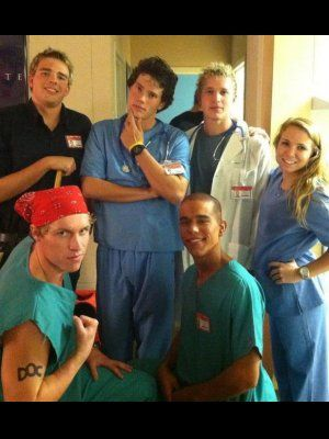 Scrubs Cast - CollegeHumor Halloween