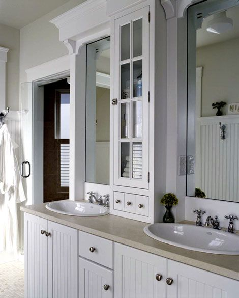 Attic bath decisions pinterest cabinet ideas extra for Extra bathroom ideas