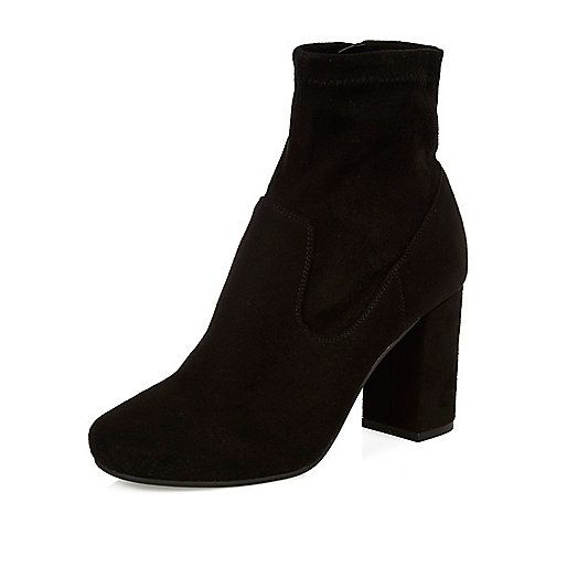 Black heeled ankle boots - ankle boots - shoes / boots - women